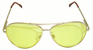 Red Yellow Lens Shooting Hunting Glasses Aviator High Contrast 2-Pack
